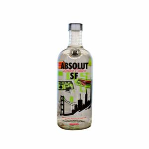 Absolut San Francisco Limited Edition Vodka - Sendgifts.com