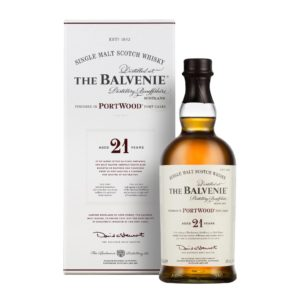 Balvenie 21 Yr Scotch Whiskey Port Wood Cask - sendgifts.com