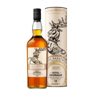 "Game Of Thrones Royal Lochnagar 12 Year Old ""House Baratheon"" Single Malt Scotch Whisky - sendgifts.com."