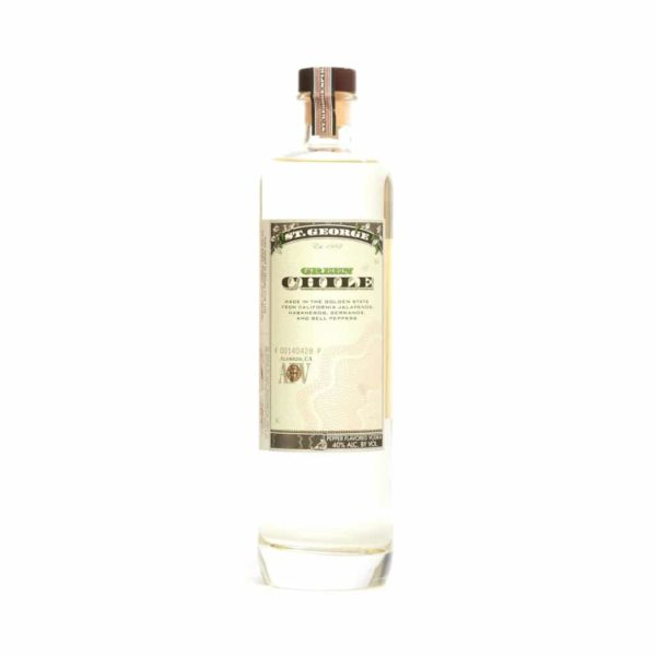 St. George Green Chile Vodka - Sendgifts.com