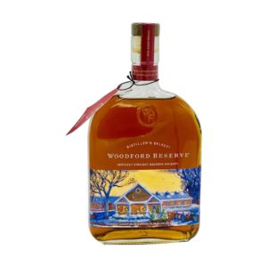 "Woodford Reserve ""2019 Holiday Artist"" Special Edition Bourbon Whiskey 1000 Ml - sendgifts.com"
