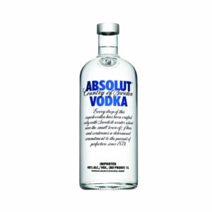 Absolut Vodka 1L - Sendgifts.com