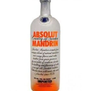 Absolut Mandarin Vodka - Sendgifts.com