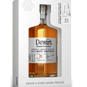 Dewar's Double Double 21 Year Old Blended Scotch 375ML - Sendgifts.com