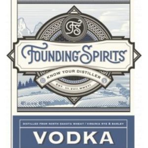 Founding Spirits Vodka - Sendgifts.com