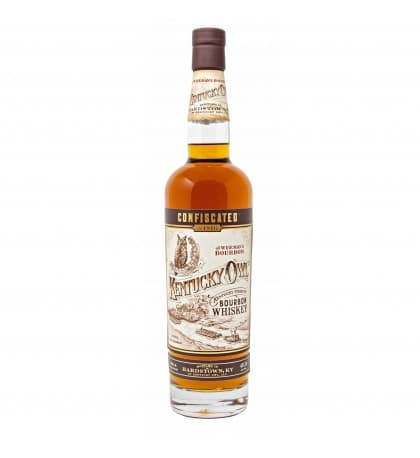 Kentucky Owl 'confiscated' Straight Bourbon Whiskey 750ml - Sendgifts.com