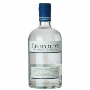 Leopold's Navy Strength American Small Batch Gin - sendgifts.com