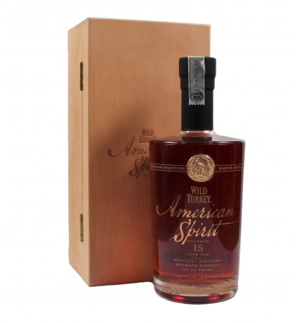 Wild Turkey American Spirit 15 Year Old Kentucky Straight Bourbon - Sendgifts.com