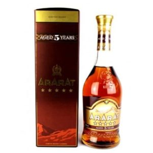 Ararat 5 year old brandy - Sendgifts.com