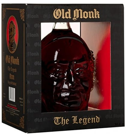 Old Monk Rum the Legend Very Old Vatted - Sendgifts.com