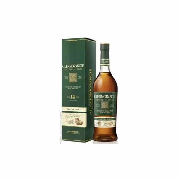 Glenmorangie The Quinta Ruban Port Cask Extra Matured 14 year old - Sndgifts.com