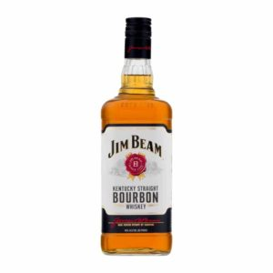 Jim Beam Kentucky Straight Bourbon Whiskey 4 year old 1L - Sendgifts.com