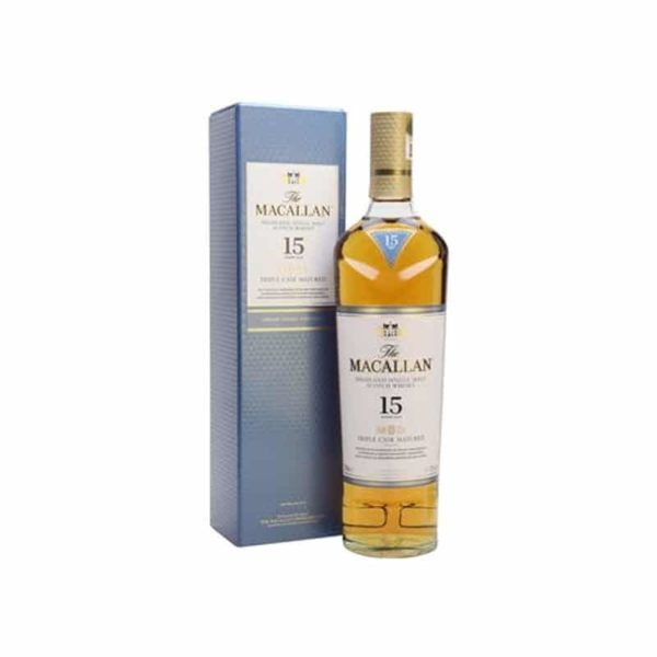 Macallan Triple Cask Matured 15 year old - Sendgifts.com