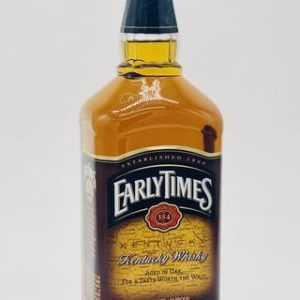 Early Times Straight Kentucky Bourbon Whiskey 1000 ml - Sendgifts.com