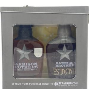 "GARRISON BROTHERS ""BOOT FLASK"" & ""ESTACADO"" BOURBON WHISKEY 2 X 375 ML - Sendgifts.com"