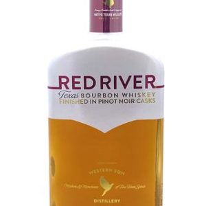 "Red River ""Finished in Pinot Noir Barrels"" Bourbon Whiskey - Sendgifts.com"