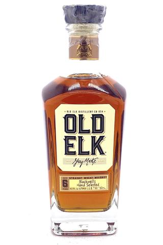 """Old Elk """"Private Select"""" 6 Year Single Barrel Cask Strength Straight Wheat Whiskey - Sendgifts.com"""