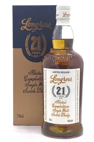 Longrow 21 Year Old Single Cask Peated Scotch Whisky - Sendgifts.com