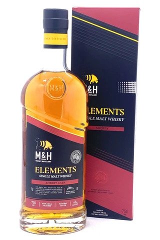 "Milk and Honey Distillery ""Elements"" Sherry Cask Single Malt Whisky - Sendgifts.com"