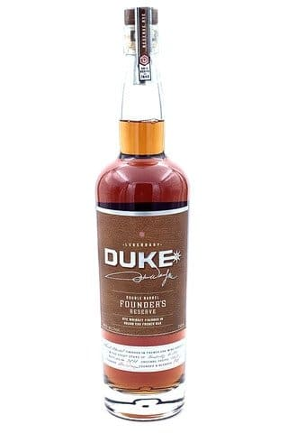 Duke Founder's Reserve Double Barrel Rye Whiskey - Sendgifts.com