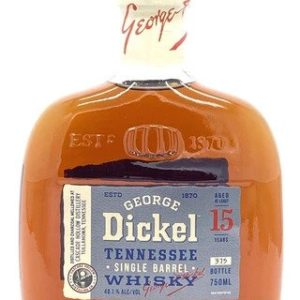 George Dickel 15 Years Old Single Barrel Tennessee Whisky - Sendgifts.com