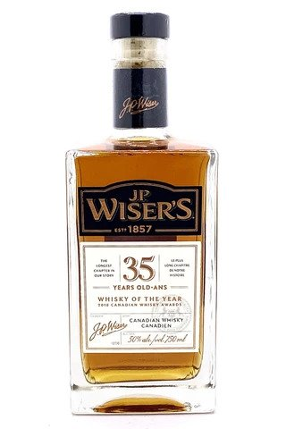 JP Wiser 35 Year Old Canadian Whisky - Sendgifts.com