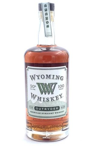 "Wyoming ""Outryder"" 8 Years Old Straight American Whiskey 100 Proof - Sendgifts.com"