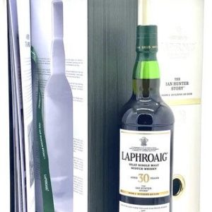 "Laphroaig 30 Year ""Ian Hunter Story - Book 2"" Islay Single Malt Scotch Whisky - Sendgifts.com"