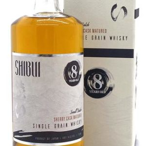 Shibui Small Batch Sherry Cask 8 Year Old Single Grain Japanese Whisky - Sendgifts.com