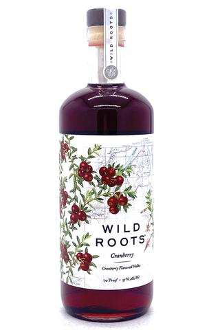 Wild Roots Cranberry Infused Vodka