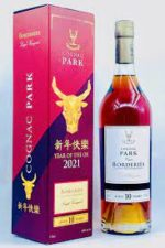 """Cognac Park 10 Years Old Borderies Cognac Chinese New Year """"Year of the Ox"""" - Sendgifts.com"""