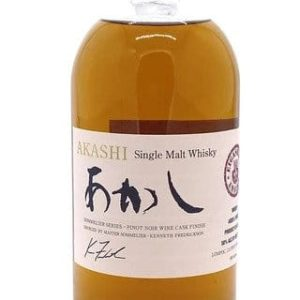 "Akashi Single Malt Whisky ""Pinot Noir Wine Cask"" Eigashima Whisky - Sendgifts.com"